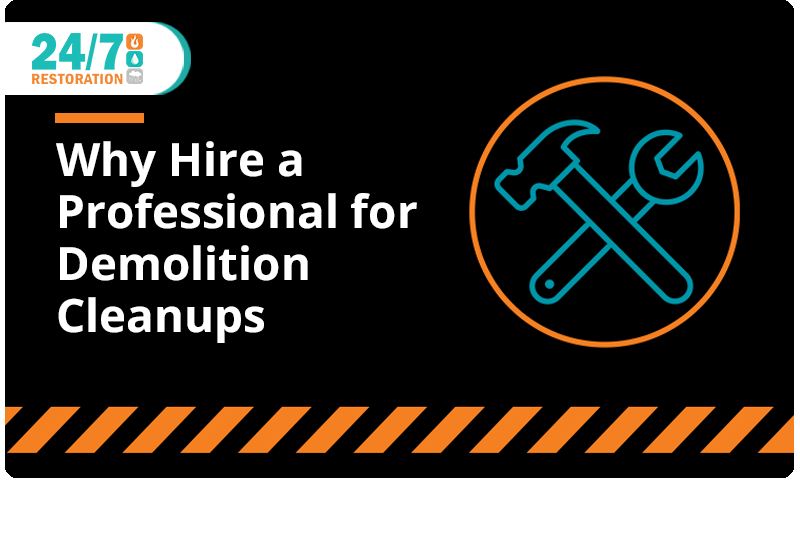 Why Hire a Professional for Demolition Cleanups