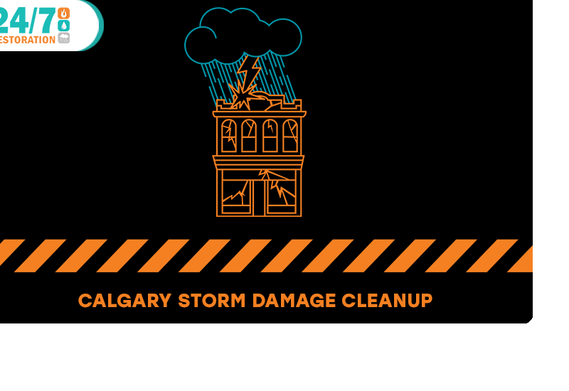 Storm Damage Cleanup and Restoration Calgary