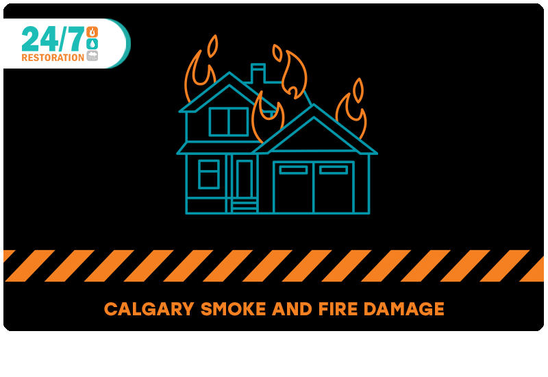 Smoke and Fire Damage Cleanup Calgary